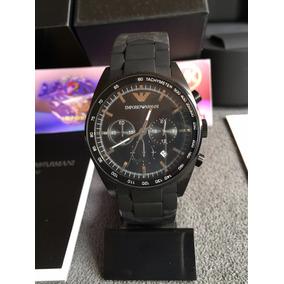 ad12168d643 Relógio Emporio Armani Ar5981 Preto Modelo Novo Em Leilao - Relógios ...