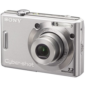 Camera Sony Cyber Shot Dsc-w35 - Com Defeito