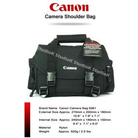 Bolsa Canon Original * 60d 7d 5d Mark T4i T3i T2i 650d 600d