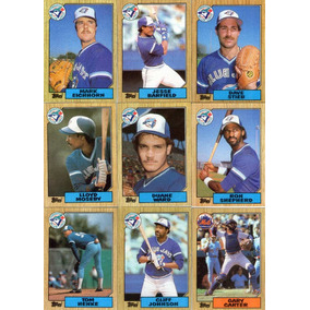 Lote-04- C/54 Cards- 06 Times De Baseball-usa-1987