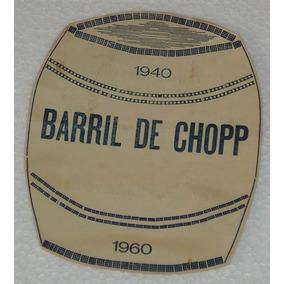 Cardapio Turma Barril Shopp Cravinhos 1960 ;