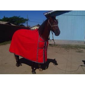 Capa Cavalo De Brim Comprida
