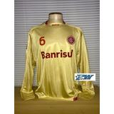 Camisa Inter Copa Sul-americana 2009 Dourada #6 Kleber