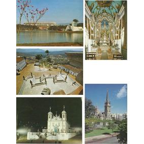 043 Ctp- Cartão Postal Brasil- Déc 70- Bh Congonhas- Com 5