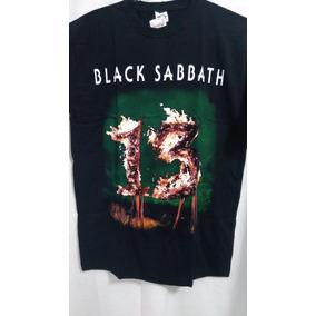 e4fcfa50f5e18 Camiseta Black Sabbath 13 Thirteen Album Novo Tamanho G - Camisetas ...