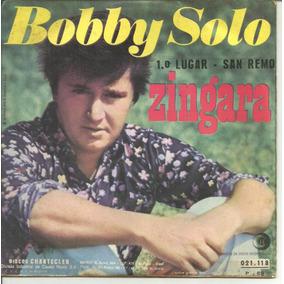 Bobby Solo Zingara Compacto Vinil Ricordi 1969