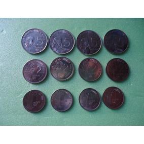 Moedas Da Fao 1 / 2 / 5 Centavos 1975 A 1978 Serie Completa