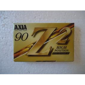 Fita K7 Cassete Axia Z2 Lacrada!!! Virgem