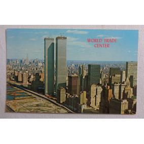 Cartão Postal World Trade Center Eua