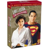 Lois E Clark 4ª Temporada - Box 6 Dvds Original E Lacrado