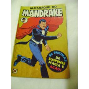 Almanaque Do Mandrake No.1 Jun 79 Rge Ótimo E Raro!
