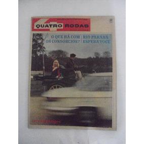 Revista Quatro Rodas N 75 Outubro De 1966 - Teste