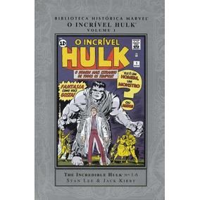 Biblioteca Histórica Marvel: O Incrível Hulk - Panini (nova)