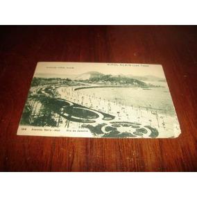 Cartão Postal - Avenida Beira Mar - Rio De Janeiro
