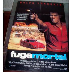 Cartaz/poster Cinema Filme Fuga Mortal - Dolph Lundgren