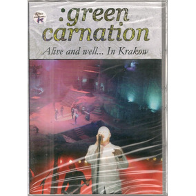 Green Carnation - Alive And Well...in Krakow Dvd Lacrado