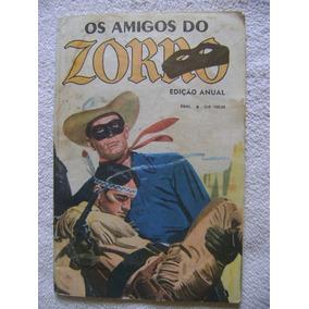 Os Amigos Do Zorro Edição Anual Jan 82 Ebal
