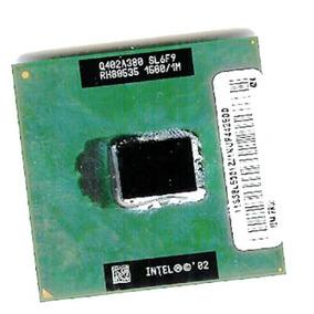 Cpu 1.50ghz Intel Pentium M 1m 400mhz , Ppga478 Sl6f9