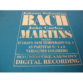 João Carlos Martins Interpreta Bach- Caixa C/ 7 Lpss