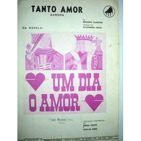 Tanto Amor (aurora) - Da Novela Um Dia O Amor - Partitura