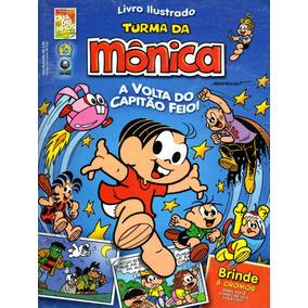 Album De Figurinhas Turma Da Monica - Avolta Do Cap. Feio -