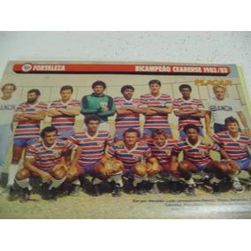 Mini Poster Fortaleza Bi Campeão Ceara 1983 Placar