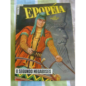 Epopéia No.65 Dezembro 1957 Ebal Ótimo!