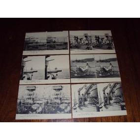 Cartões Postais Antigos - Navio De Guerra - R$ 400,00