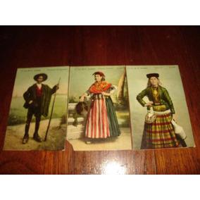 Cartões Postais - Costumes - Lisboa