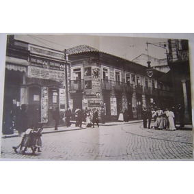 Fotografia Antiga Rua De São Paulo, Revista Nosso Século.