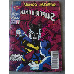 Gibi Super Homem Nº 130 - Mundo Bizarro
