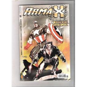 Revistas Arma X - A Estreia De Wolverine E Capitão America