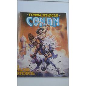 A Espada Selvagem De Conan Nº 9 Bom Estado A Cilada Infernal