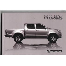 Manual Proprietário Hilux Toyota 2011 Suplementos E Capa Or