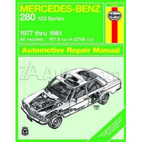 Manual Haynes De Mercedes W123 Classe E 250 & 280 1976/1984