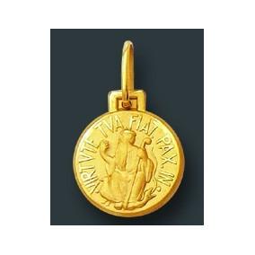 Pingente Medalha São Bento Ouro 18k - Joias e Bijuterias no Mercado ... e16e6d7a47