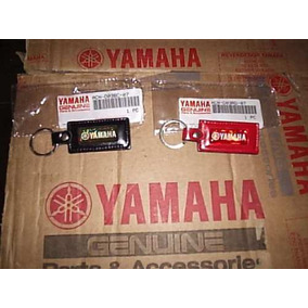Lindo Chaveiro Original Yamaha Em Couro Preto Ou Vermelho