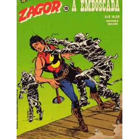 Tex Apresenta Zagor Nº15 A Emboscada Ed Vecchi 1979