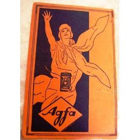 Agfa Envelope Que Guardava As Fotos De 1920 Aprx