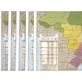 Mapa Oficial Do Brasil - 30 Unidades - Ibge - Novos. 33 X 30