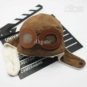 Gorro Aviador Infantil Touca Chapéu - Pronta Entrega