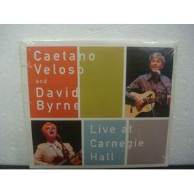 Caetano Veloso And David Byrne - Live At... - Cd Mini Lp...