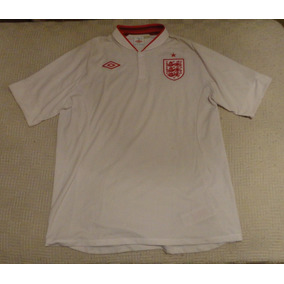 Camiseta De Inglaterra 2012 Marca Umbro Talle 46