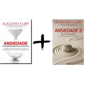 Kit Livros Augusto Cury - Ansiedade Volumes 1 E 2