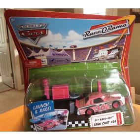 Disney Cars Orig.mattel Pit Race Tank Coat C/lançador