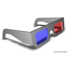 Óculos 3d Alta Qualidade Papel Cartão Laminado (20 Unidades)