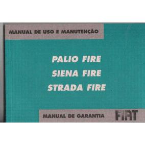 Manual Proprietário Palio Siena Strada Fire 2007 08 Kit Comp
