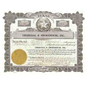 Apolice - Charcoal E Smokehouse, Inc, Texas Usa Nº 24