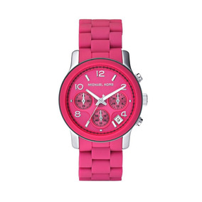 0022679cc1819 Relógio Michael Kors Mk5206 Pink   Preço Imbatível! - Relógios De ...