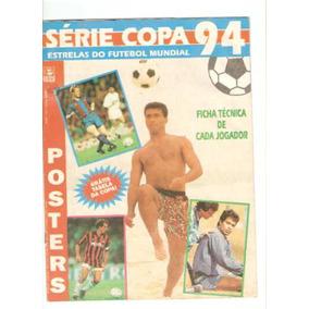 Revista Série Copa 94 Estrelas Do Futebol Mundial